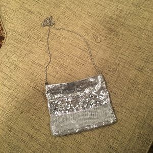 Le Regale Silver Evening Bag